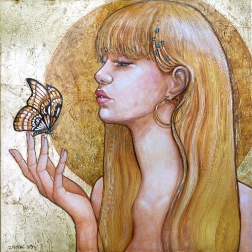 Joanna Misztal (ur. 1967), Złota ćma, 2021