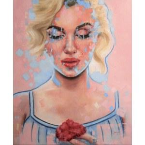 Jaga Szczepanik (ur. 1983), Marilyn z kwiatkiem, 2021