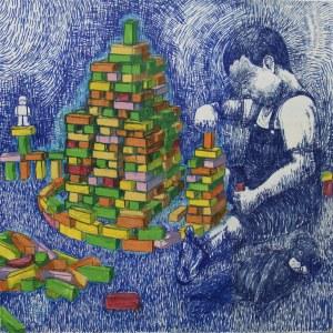 Maciej Rosa (ur.1998), Chłopiec, 2020