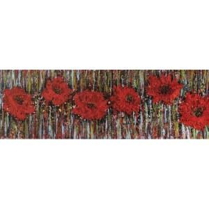 Izabela Drzewiecka (ur. 1966), Czerwone maki, 2021