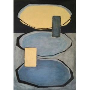 Ewa Najdenow (ur. 1967), Wabi-Sabi Blues XIV, 2021
