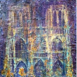 Dawid Masionek (ur. 1994), Katedra Słowa – Notre Dame, 2021