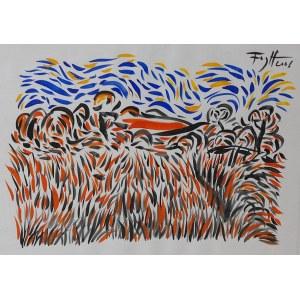 Andrzej Fogtt(ur.1950), Pejzaż, 2001