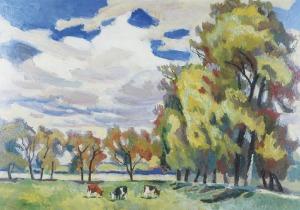 Stanisław Kamocki (1875-1944), Pastwisko – pod jesień