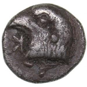 Aeolis - Kyme AR Hemiobol - (450-400 BC)