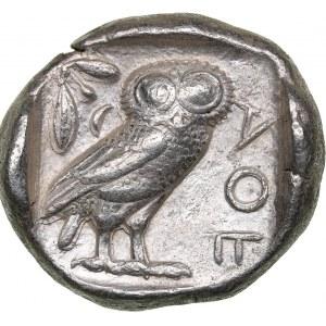 Attica - Athens AR Tetradrachm (circa 454-404 BC.)