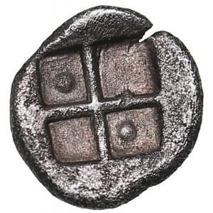 Bosporus Kingdom, Pantikapaion AR hemiobol (Circa 470-460 BC)