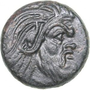 Bosporus Kingdom, Pantikapaion Æ tetrachalcon (Circa 345-310 BC)