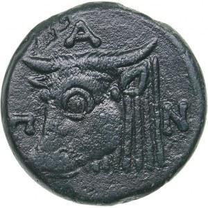 Bosporus Kingdom, Pantikapaion Æ obol (Circa 303-283 BC)