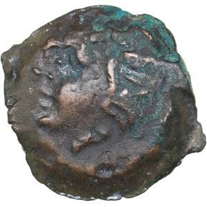 Bosporus Kingdom, Pantikapaion Æ obol (Ca. 275-245 BC)