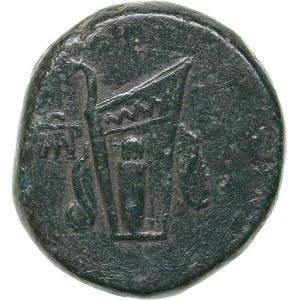 Bosporus Kingdom, Pantikapaion Æ obol (81-65 BC)