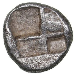 Caria, uncertain mint AR Obol. Circa 5th century BC.