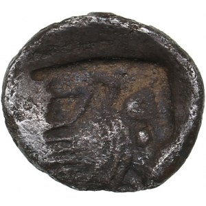 Caria, uncertain mint AR Tetartemorion. Circa 480-450 BC