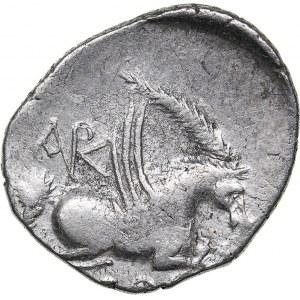Epirus - Korkyra AR Stater (circa 229-48 BC)