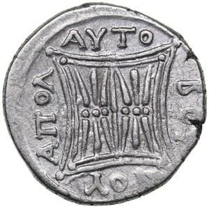 Illyria - Apollonia - Niken & Autoboulos AR Drachm - (circa 250-48 BC)