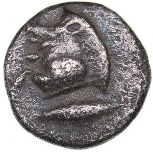 Mysia - Kyzikos AR Hemiobol (circa 450-400 BC)