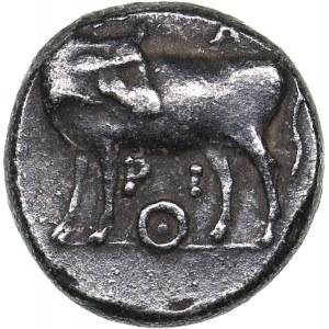 Mysia - Parion AR hemidrachm (350-300 BC)