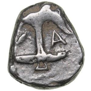 Thrace - Apollonia Pontica AR Drachm (circa 450-404 BC)