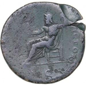Roman Empire AE Sestertius - Domitian (81-96 AD)