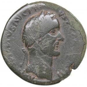 Roman Empire Æ Sestertius - Antoninus Pius (138-161 AD)