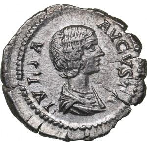 Roman Empire AR Denarius - Julia Domna (wife of S. Severus) (196-211 AD)