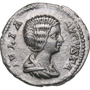 Roman Empire AR Denarius 203 AD - Julia Domna (wife of S. Severus) (196-211 AD)
