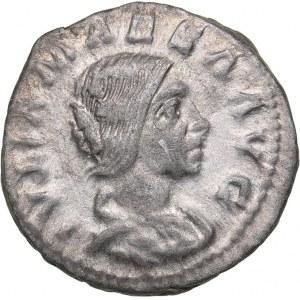 Roman Empire AR Denarius - Julia Maesa (grandmother of Elagabalus) (218-220 AD)