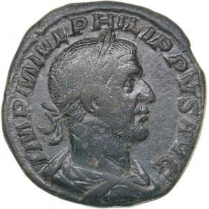 Roman Empire Æ Sestertius 244-245 AD - Philip the Arab (244-249 AD)