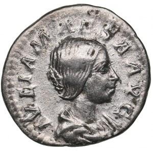 Roman Empire Denarius 220-222 AD - Iulia Maesa (244 AD)