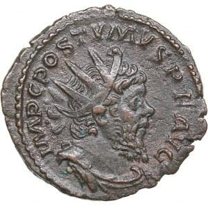 Roman Empire AE Antoninianus 268 AD - Postumus (260-269 AD)