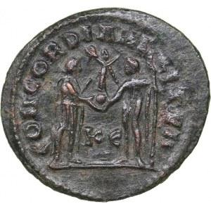 Roman Empire Radiate Æ follis - Maximianus Herculius (286-305 AD)