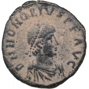 Roman Empire - Antioch Æ Follis - Honorius (393-423 AD)