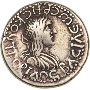 Bosporus Kingdom, Pantikapaion Stater BE 515 = 218/9 - Rhescuporis II, with Caracalla (211/2-226/7 AD)