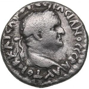 Roman - Cappadocia - Caesarea-Eusebia AR Hemidrachm - Vespasian (69-79 AD)