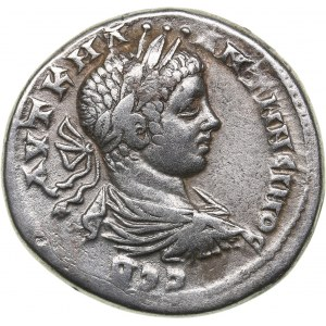 Roman - Syria - Seleucis and Pieria. Antioch Tetradrachm - Laodikeia ad Mare. Caracalla (197-217 AD)