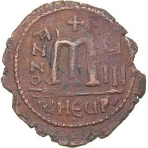 Byzantine Æ 40 Nummi - Maurice Tiberius (582-602 BC)