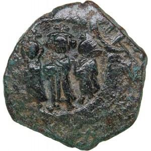 Byzantine - Constantinople Æ Follis - Heraclius (610-641 AD)