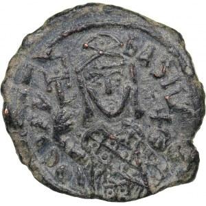 Byzantine AE Follis - Theophilus (829-842 AD)