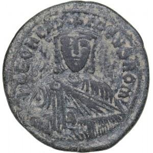 Byzantine - Constantinople Æ Follis - Leo VI the Wise (886-912 AD)