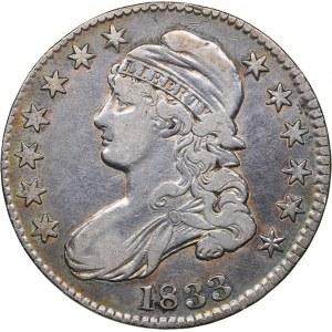 USA 1/2 dollars/ 50 cents 1833