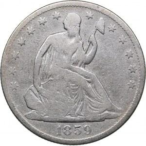 USA 1/2 dollars 1859 O