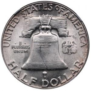 USA 1/2 dollars 1952 - NGC AU 55