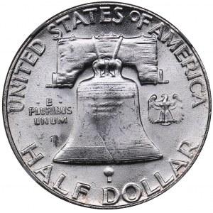USA 1/2 dollars 1955 - NGC MS 62