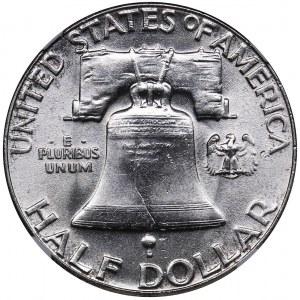 USA 1/2 dollars 1957 - NGC MS 63