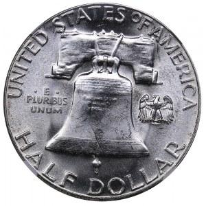 USA 1/2 dollars 1959 - NGC MS 63