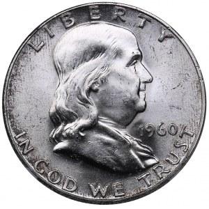 USA 1/2 dollars 1960 - NGC MS 63