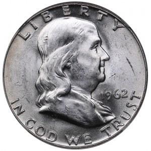 USA 1/2 dollars 1962 D - NGC MS 61