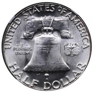 USA 1/2 dollars 1963 - NGC MS 63