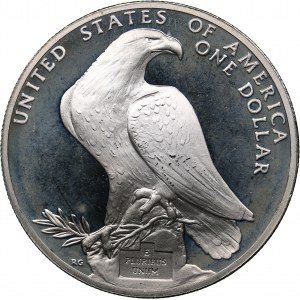 USA 1 dollar 1984 - Olympics Los Angeles 1984