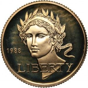 USA 5 dollars 1988 - Olympics